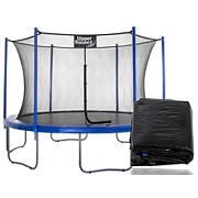 Upper Bounce 12' Round Trampoline with Weather Cover