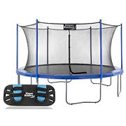 Upper Bounce 14' Round Trampoline with Jumping Skate