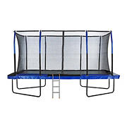 "Upper Bounce 8"" x 14"" Rectangular Trampoline with Ladder"