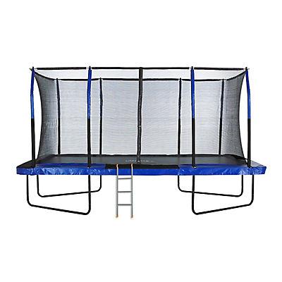 "Upper Bounce 8"" x 14"" Rectangular Trampoline with Ladder"