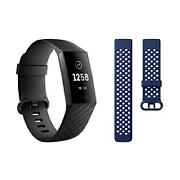 Fitbit Charge 3 Activity Tracker with Bonus Band - Large