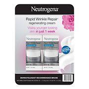 Neutrogena Rapid Wrinkle Repair Regenerating Face Cream, 2 pk./1.7 fl. oz.