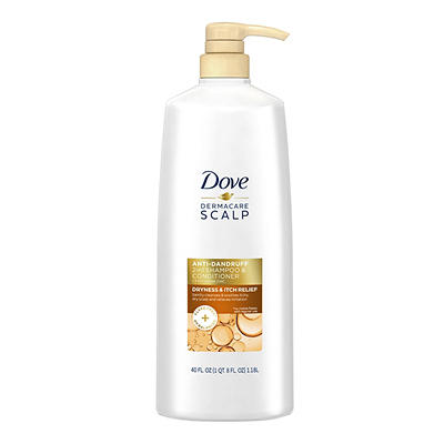 Dove Dermacare Scalp 2-In-1 Anti-Dandruff Shampoo and Conditioner, 40