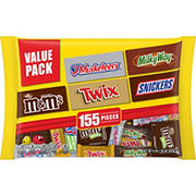 Mars Chocolate Favorites Variety Mix, 155 ct.