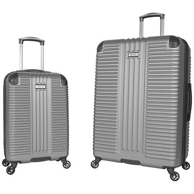 Kenneth Cole Reaction 2-Pc. Hardside Luggage Set - Silver