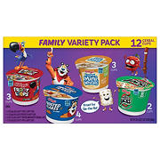 Kellogg's Cereal Cups Family Variety Pack, 12 ct.