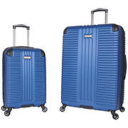 Kenneth Cole Reaction 2-Pc. Hardside Luggage Set - Cobalt