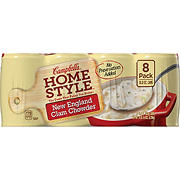 Campbell's Homestyle New England Clam Chowder Soup, 8 pk./18.8 oz.