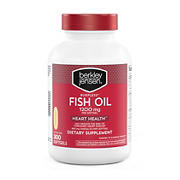 Berkley Jensen 1,200 mg Fish Oil Softgels, 300 ct.