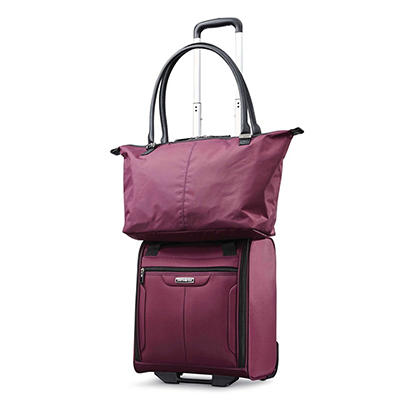 Samsonite 2-Pc. Underseat Bag with Tote - Purple