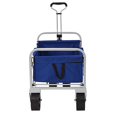Muscle Carts Collapsible Folding Utility Wagon - Blue