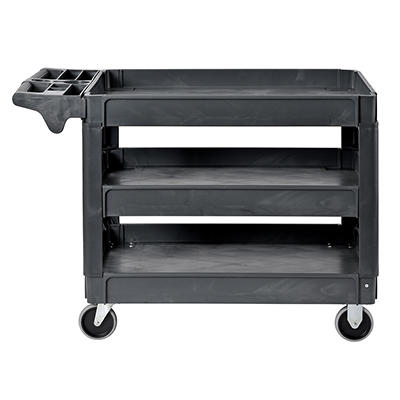 Sandusky 3-Shelf Heavy-Duty Utility Cart