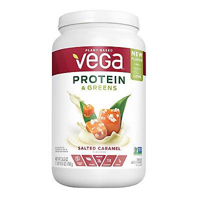 Vega Salted Caramel Flavored Protein & Greens Shake, 26.5 oz.