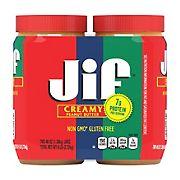 Jif Extra Creamy Peanut Butter, 2 pk./48 oz.