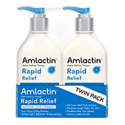 AmLactin Rapid Relief Restoring Lotion + Ceramides, 2 pk./7.9 oz.