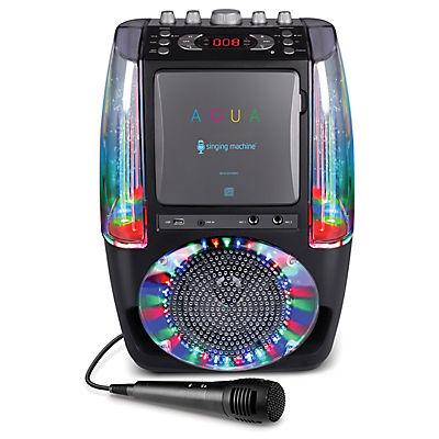 Singing Machine AGUA Karaoke System - Black