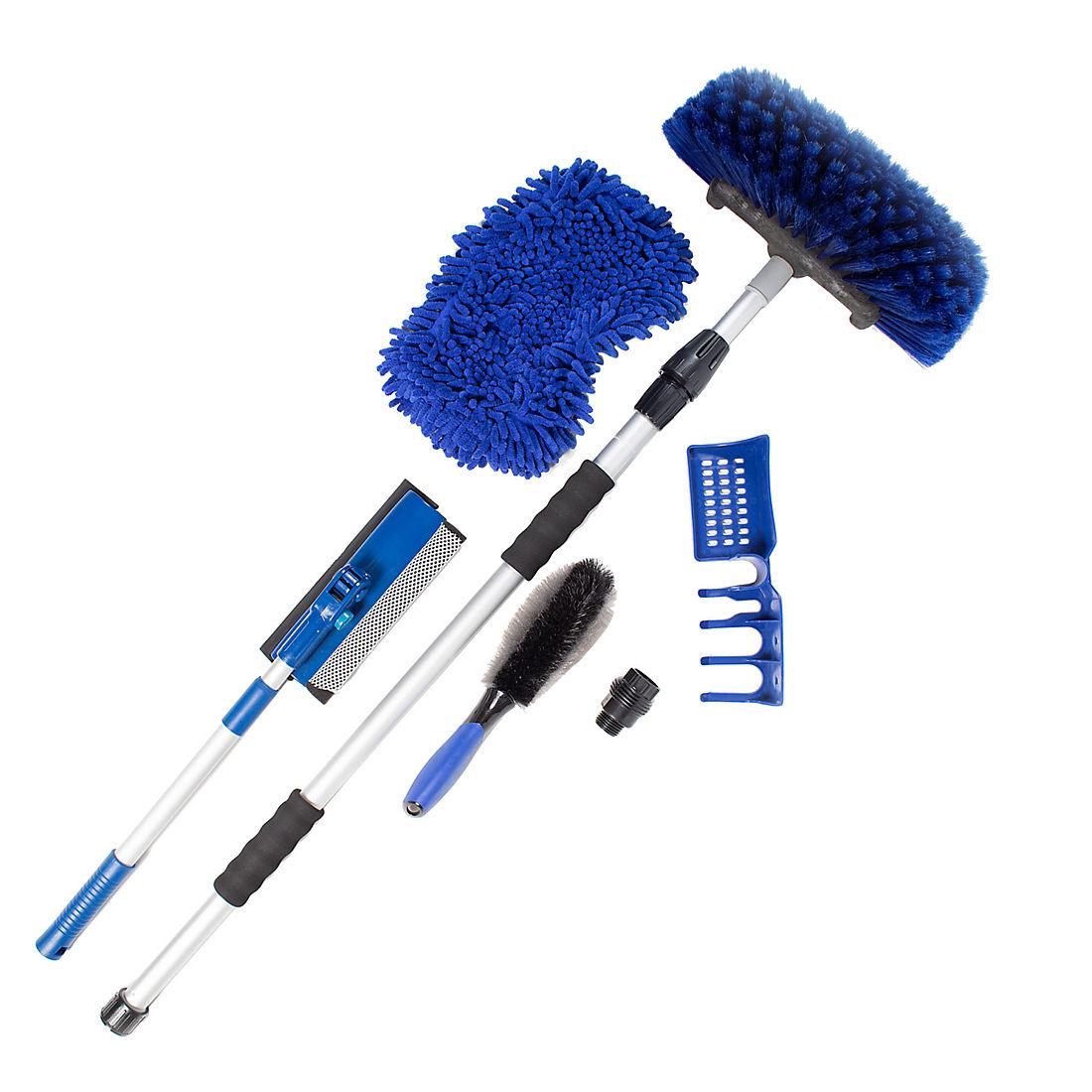 Car Wash Brush >> Myride 6 Pc All In One Car Wash Kit