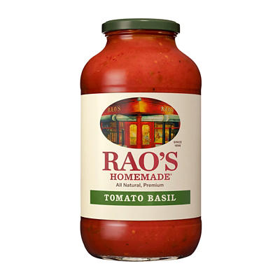Rao's Homemade Tomato Basil Sauce, 40 oz.