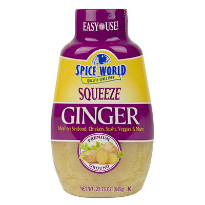 Spice World Squeeze Ginger, 6 pk./22.75 oz.
