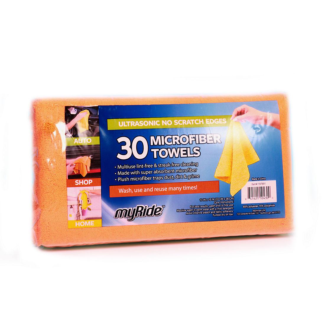 Magnificent Myride Grab A Rag Microfiber Towels 30 Ct Pabps2019 Chair Design Images Pabps2019Com