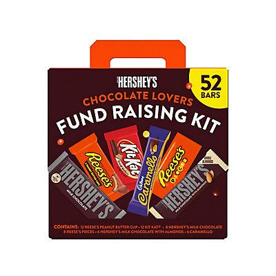 Hershey's Chocolate Lovers Fundraising Kit, 52 ct.