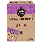 Second Nature Vanilla Glazed Omega-3 Variety Dry Fruit Pack, 16 pk.