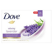 Dove Purely Pampering Relaxing Lavender Beauty Bar Soap, 16 ct./4 oz.