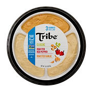 Tribe Hummus Variety Tray Dips, 30 oz.