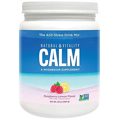 Natural Vitality Calm Raspberry Lemon Anti-Stress Drink Mix, 20 oz.