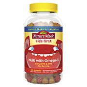 Nature Made Kids First Multivitamin Gummies with Omega 3, 180 ct.