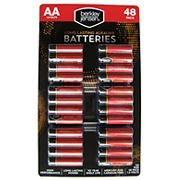 Berkley Jensen AA Alkaline Batteries, 48 ct.