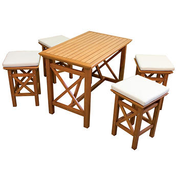 RIO Abbott 5-Piece High Dining Set