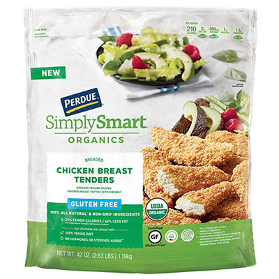 Perdue Simply Smart Organics Chicken Breast Tenders, 42 oz.