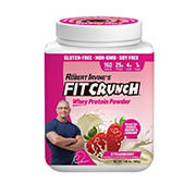 Fit Crunch Strawberry Whey Protein Powder, 1.98 lbs.