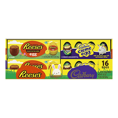 Hershey's Easter Egg Variety Pack, 16 ct./19.2 oz.