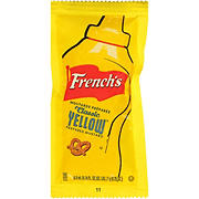 French's Classic Prepared Yellow Mustard Packets, 500 ct.