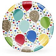 "Artstyle Sparkle Party 10.25"" Plates, 40 ct."