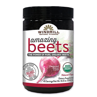 Windmill's Amazing Beets Natural Vitamins, 45 pk./10.3 oz.