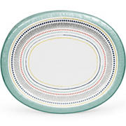 "Artstyle All Lined Up 12"" Oval Platters, 35 ct."