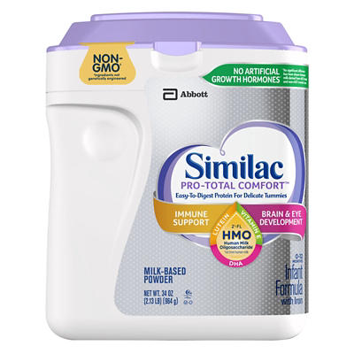 Similac Pro-Total Comfort Non-GMO with 2'-FL HMO Infant Formula with I