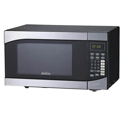 Sunbeam 0.9-Cu.-Ft. 900W Microwave - Stainless Steel