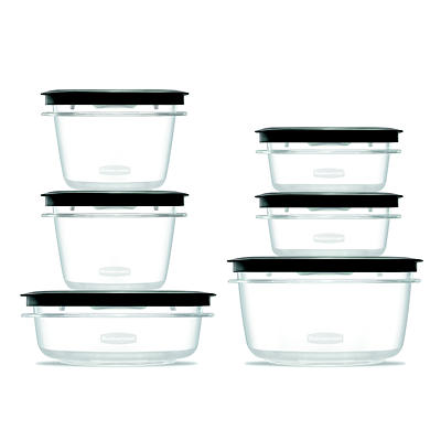 Rubbermaid Premier 12-Pc. Food Storage Container Set