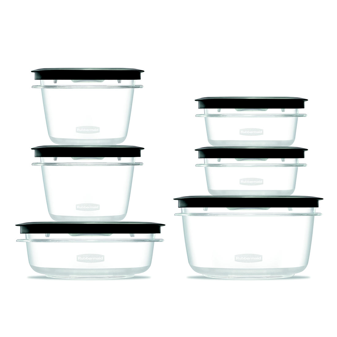Rubbermaid Premier 12-Pc. Food Storage Container Set