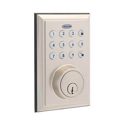 Honeywell Bluetooth Digital Deadbolt Lock - Satin Nickel
