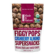 Made in Nature Cranberry Almond Figgy Pop Energy Treats, 11 oz.