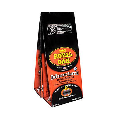 Royal Oak Minit Lite Ridge Charcoal, 2 pk./11.6 lbs.