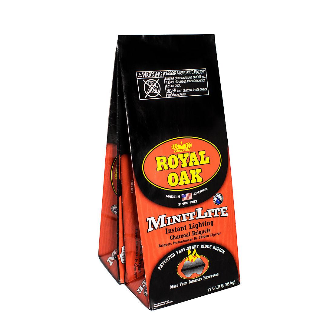 Royal Oak Minit Lite Ridge Charcoal 2 Pk 11 6 Lbs