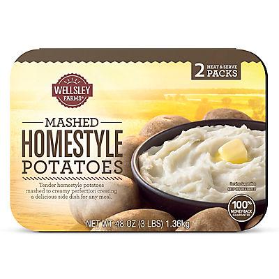 Wellsley Farms Mashed Homestyle Potatoes, 2 ct./24 oz.