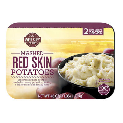Wellsley Farms Mashed Red Skin Potatoes, 2 ct./24 oz.