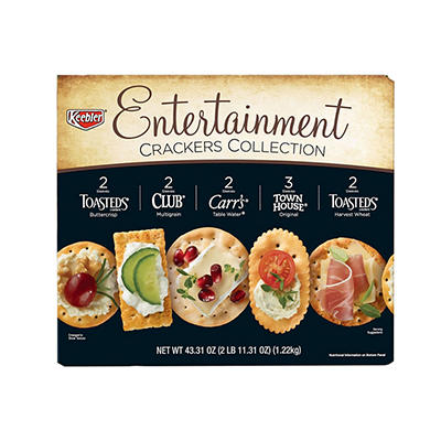 Keebler Entertainment Crackers Collection Variety Pack, 43.31 oz.